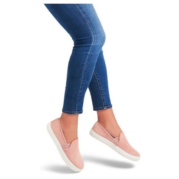 Target Dolce Vita Pink Suede Slip